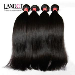Brasilianisches gerades Jungfrau-Haar-unverarbeitete Menschenhaar-Webart 4 Bündel 8A Grad-peruanische malaysische indische kambodschanische mongolische Haar-Erweiterungen