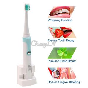 Wholesale-30000 / دقيقة Kemei قابلة للشحن فرشاة الأسنان الكهربائية + 4 رؤساء الذكية للماء بالموجات فوق الصوتية فرشاة الأسنان صحة الفم العناية بالأسنان 13 # 65