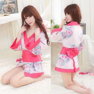 Livraison gratuite New sexy lingerie fun sous-vêtements kimono extrême tentation sexy pièce corps transparent ultra-mince uniforme costume pyjama grand co