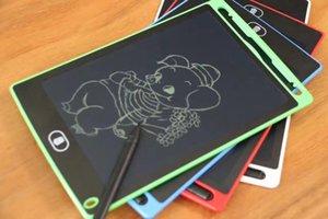 8.5 polegada LCD Escrita Tablet Prancheta Placa de Escrita Almofadas de Presente para Crianças Paperless Notepad Whiteboard Memo Com Caneta DHL Livre
