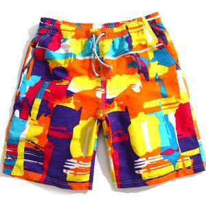 Frete grátis 2015 nova verão dos homens de moda troncos de natação sexy surt praia swimwear boxer board shorts sports suit swimwear dos homens bandeira