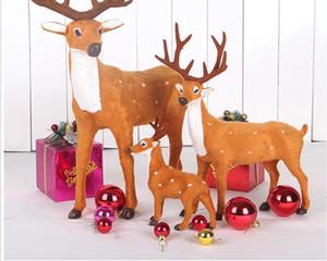 Simulazione decorazioni natalizie cervo grande cervo sikak alce cart hotel set arredo negozi tre dimensioni