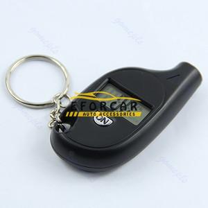 100 cps / lote Sensor de presión del neumático del coche sensor Probador Llavero llavero Digital LCD Neumático del coche Medidor de presión de aire del neumático para el coche Auto motocicleta