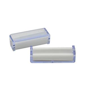 1pct rodillo de tabaco transparente máquina de laminación de cigarrillos para 70 mm papel amoladora vaporizador snuff snorter