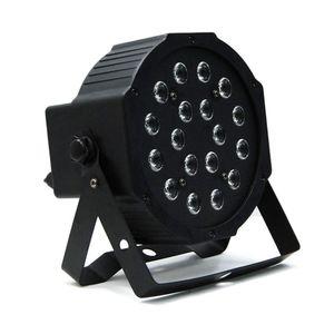 Edison2011 18 W LED Sahne Işık DMX Master Slave ile Yüksek Güç RGB Par Işık LED Düz DJ Ekipmanları Denetleyici