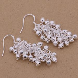 Mode glamour ashion de luxe (fabricant de bijoux) 20 pcs beaucoup boucles d'oreilles en argent sterling 925 prix usine de bijoux