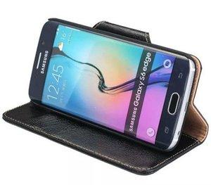 Eccellenza per Samsung S6 Edge Case Flip Case Portafoglio originale di lusso Custodia in pelle di silicone originale per Samsung Galaxy S6 Edge G9250