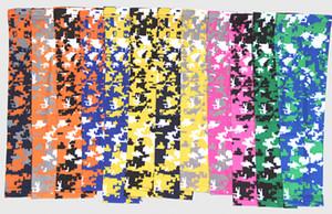 New Digital Camo Sports pour le softball, le baseball Manchon de bras de compression Drapeau américain Sportswear élite 138 couleurs 7 tailles