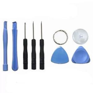 Pour Apple iPhone 5-6-7 téléphone cellulaire Téléphone portable Réparation outils 8 en 1 Réparation Pry Kit Outils d'ouverture Pentalobe Torx Tournevis fendu 100sets