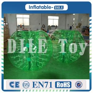 Nuovo design 0.8mm PVC 1.5 m Air Bumper Ball Corpo Zorb Ball Bubble football, Bubble Soccer Zorb Ball In Vendita