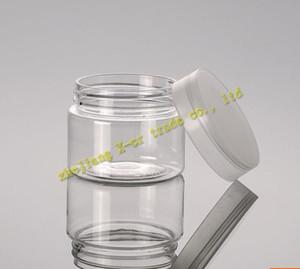 Livraison gratuite 50pcs / Capacité de lot 50g de haute qualité Plastique Crème Crème Conteneurs cosmétiques, emballages cosmétiques, pots cosmétiques