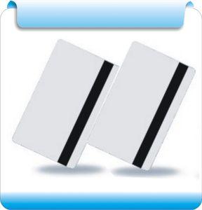 Venta al por mayor - Tarjeta de banda magnética Hico 200pcs en color blanco, 2750OE / en blanco, tarjeta HiCo, 1,2,3 vía
