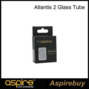 Atacado Aspire Atlantis 2 Substituição 3 ML Pirex Tubo De Vidro para Aspire Atlantis Tanque Tubo De Vidro 3 ML 100% Autêntico Frete Grátis