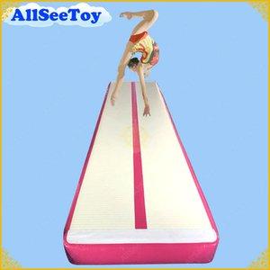 Inflatable Air Track zum Verkauf, Boden Home Gymnastik Tumbling Mat, Cheerleading Inflatable Gymnastics Air Mat Tumble Track aufblasbare Matte