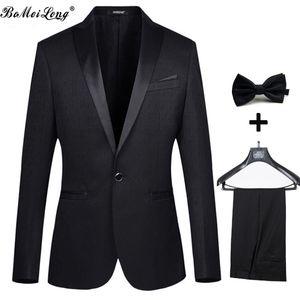 2021 ternos de casamento para o homem Moda smoking Tailcoat Homens terno com calça Masculino noivo Jacket + Pant + Tie