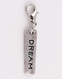 20 Шт. / Лот Dream Tag Lucky DIY Подвески Мотаться Кулон, Пригодный Для Магнитного Стекла Памяти Плавающей Медальон