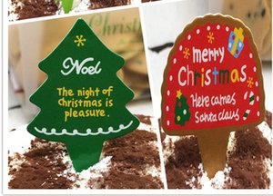 Wholesale-Lot Of 100 Christmas Cupcake Topper Cake Wrappers Decoration Accessories Items Gear Stuff Supplies Products