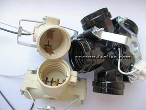 터미널 전선과 E27의 X 2 개 멀티 기능성 램프 기초 E27 X 3 여러 대리점 E27 X 5 램프 홀더 변환기 나사 입