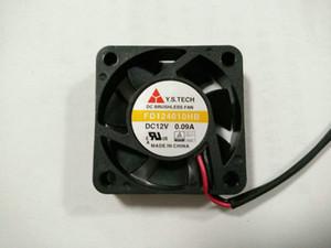 새로운 원래 Y.S.TECH FD124010HB 12V 0.09A 40 * 40 * 10MM 4cm 더블 볼 베어링 냉각 팬