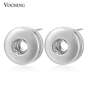 Petite NOOSA gioielli 12mm piccoli pezzi bottone a scatto dell'orecchino gioielli fai da te Noosa (Ve-002)