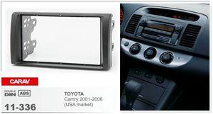 CARAV 11-336 Car Stéréo Radio Fascia Plaque Panneau Cadre Kit Pour TOYOTA Camry Stéréo Fascia Dash CD Garniture Kit D'installation