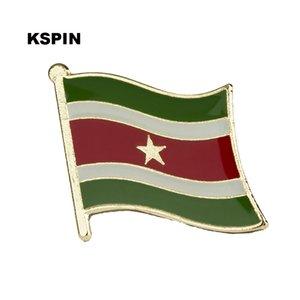 Suriname Flag Bavero Spilla Bandiera Distintivo Spilla Badge Spilla KS0168