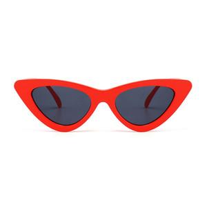 Mode Tendance Lunettes de soleil Cat Eye Femmes Retro 2020 Marque Designer Cat Eye Sunglasses Femmes Vintage Gradient Femme Lunettes de soleil