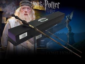 2020 Yeni Geliş perakende Yeni Dumbledore Wand Magical Çubuk Wand Yeni Gelen Kutusu Cosplay Ücretsiz Kargo
