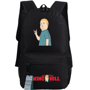 Король горы рюкзак Новый день пакет Хороший мультфильм мешок школы аниме рюкзак Качество рюкзака Sport Schoolbag Открытый рюкзака