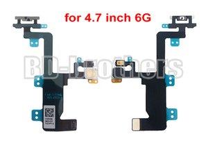 "% 100 Yepyeni Orjinal Güç 4.7"" inç / iPhone 6 Plus 5.5 '' inç 20pcs / lot iPhone 6G için Flex Kablo Ribbon Kapalı Anahtarı"
