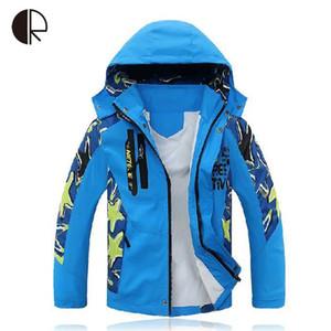 Nova Chegada das Crianças Primavera Outono Casaco de Camuflagem Casaco Com Capuz Casaco Com Capuz Esportes de Alta Qualidade Sólida Casuais KU717