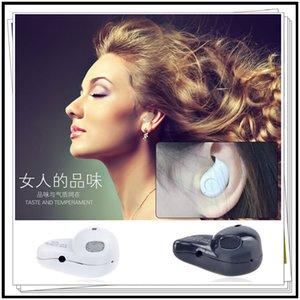Mini Fone de ouvido Bluetooth V4.0 Stereo Luz Mini Bluetooth fone de ouvido estéreo sem fio invisível Headphones S530 Super Headset Música telefone resposta