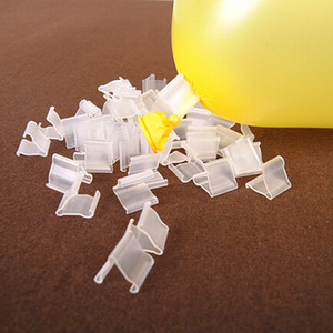 """4000 Adet / grup Şeffaf """"V"""" Şekil Sızdırmazlık Klip Balonlar Plastik Klipler Çocuk Doğum Günü Partisi Düğün Festivali Dekorasyon Aksesuarları LZ0687"""