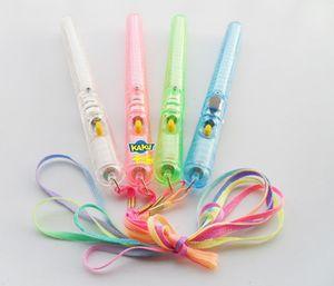 Wholesale - 60pcs lots 4 Color LED Flashing Glow Wand Light Sticks ,LED Flashing light up wand novelty toy