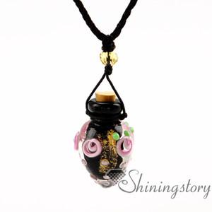 Diffuseur collier diffuseur gros pendentifs parfum gros petites bouteilles petites bouteilles de parfum diffuseur collier de diffusion de l'huile locket