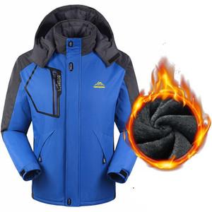 US größe Neue Herbst Winter Männer Hoodies Dicke Warme Wasserdichte Windjacke Anti Cold Fleece Jacke Komfortable Männer Mantel