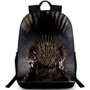Лед и огонь рюкзак Игра престолов рюкзак HBO teleplay школьный досуг рюкзак Спорт мешок школы Открытый день пакет