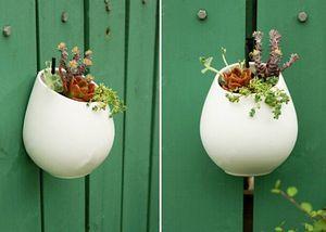 Pots de fleurs en céramique planteurs vases décoratifs Tenture murale vase en céramique décoration de la maison ornements de jardin porte-stylo DIY pot