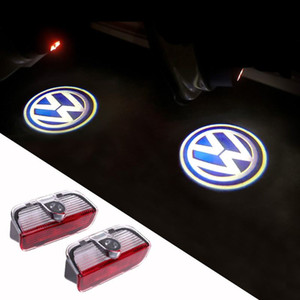 LED Door Warning Light With VW Logo Projector For VW Golf 5 6 7 Jetta MK5 MK6 MK7 CC Tiguan Passat B6 B7 Scirocco With Harness order<$18no t