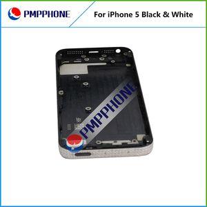 FEDEX Kargo FEDEX Kargo Geri Pil Kılıfı Orta Çerçeve Meclisi ile Tam Konut Yedek Beyaz Siyah Renk Için iphone 5 5G