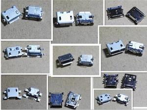 10 değer her 10 adet Mini usb 5pin Mikro USB 5Pin jack kuyruk soket mikro usb Bağlayıcı portu sockect ic