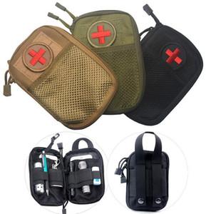 EMT Survival Wasserdichte Nylon Taktische Molle System Gürteltasche Reise Medizinische Militärische Erste-Hilfe-Kit Sling Pouch Durable SC076