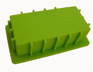 2200ML nouvelle marque plus grand rectangle sans arc enlèvement facile silicone moules savon savon moules renforcés gâteau muffin décoration moules