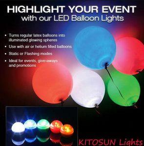 Peri LED İnciler Düğün Dekorasyon 2 CM Mini Renkli Küçük Pil Led Karpuzu Su Geçirmez Yüzer LED Işıkları Parti Tatil balon ışıkları