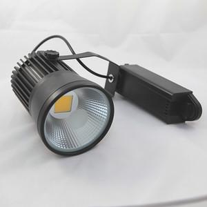 8 unids / lote 15 W seguimiento LED Light COB Led Track Light AC85-265V Spot lámpara de pared Spot Light de alta calidad mejor precio
