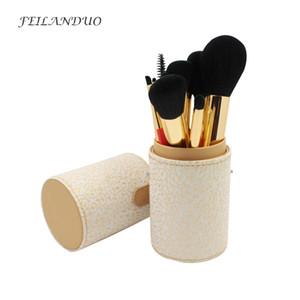 Feilanduo 12 pcs pinceaux de maquillage ensemble professionnel outil de maquillage souple 2017 haute qualité Fondation Shadow sourcil brosse Kit
