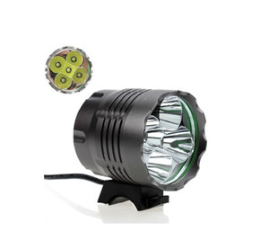 8000 lumens 5 x CREE XM-L T6 LED lumière de vélo lumière avant de vélo LED phare phare étanche alliage d'aluminium