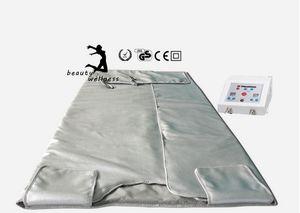 Abeto Sauna Far Infravermelho Sauna Cobertor Cobertor Terapia Corpo Emagrecimento Saco Spa Corpo Detox Perda de peso Máquina frete grátis