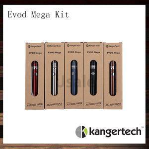 Kanger Evod 메가 키트 Kangertech Evod 메가 전자 담배 스타터 키트 2.5ml 원자로 1900 mAh 배터리 100 % Original VS Subox Mini Kit