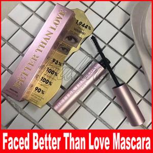 Volto di trucco Volume mascara oro rosa Meglio di amore mascara di alta qualità di lunga durata Cool Black Meglio di sesso mascara